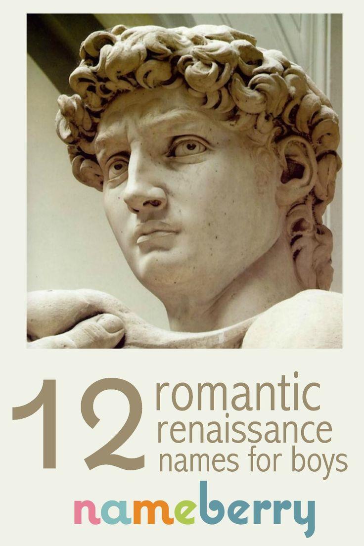 Italian Boy Name: Boys, Babies And Renaissance