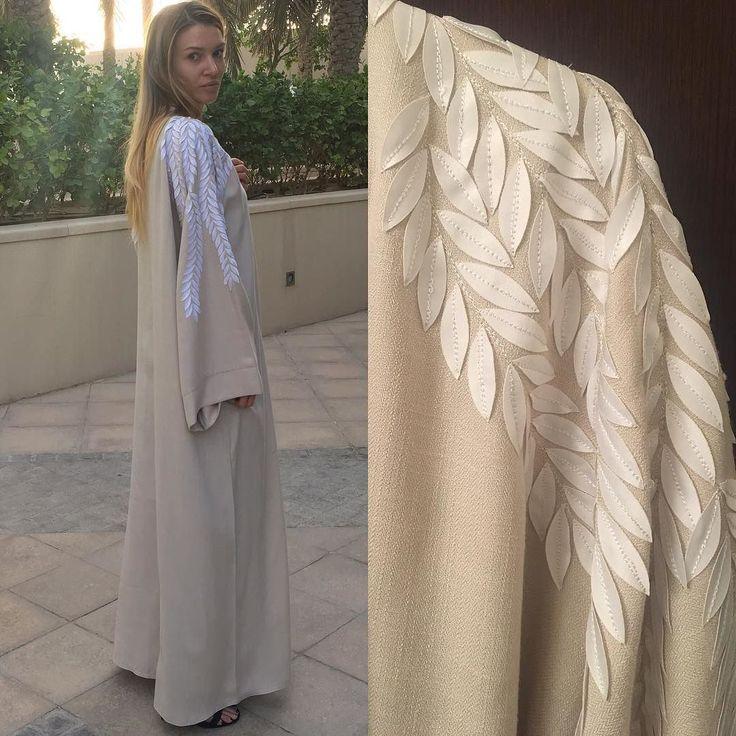 Abaya bisht hand work by OC fashion design