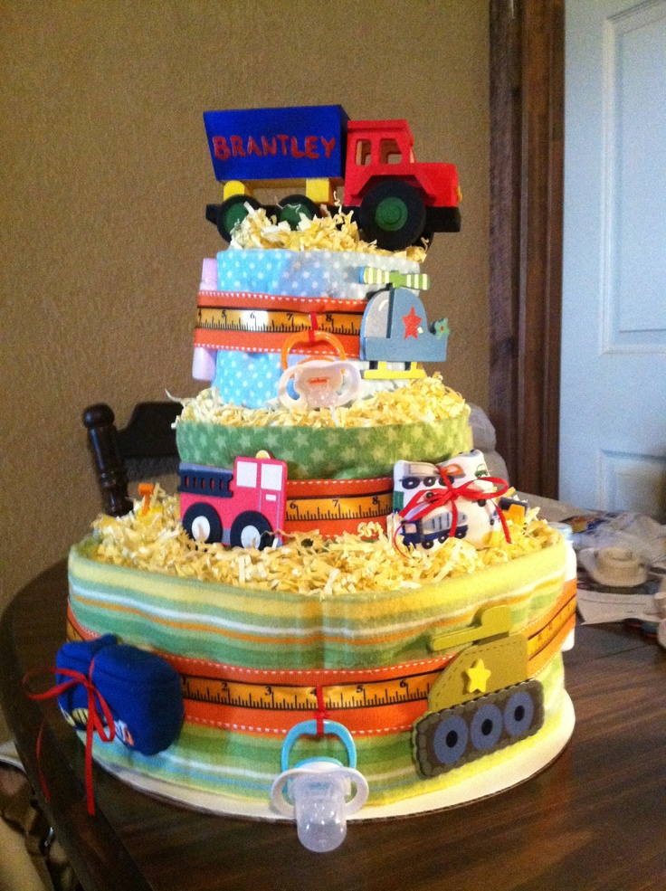 Diaper cake by maegan fortenberry