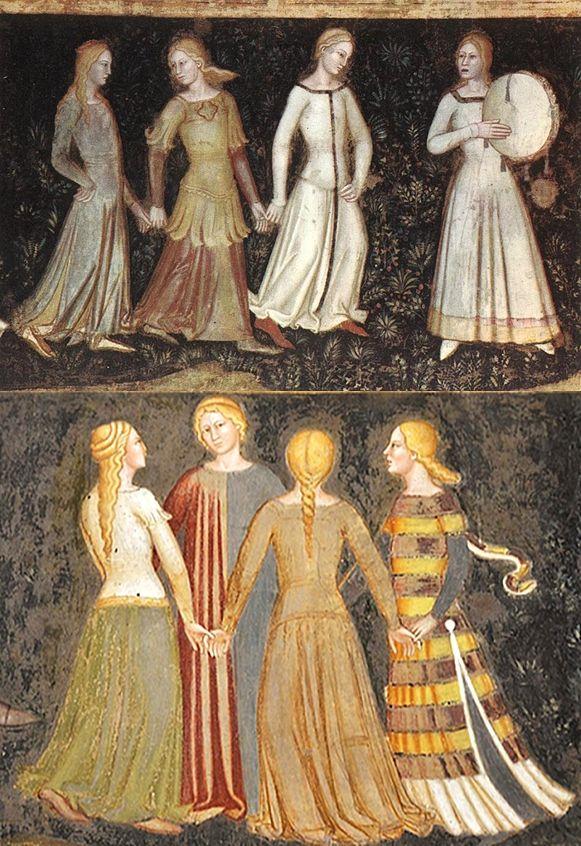 La via della salvezza, Andrea Da Firenze (Italia attivo dal 1343-1377), Cappellone degli Spagnoli.