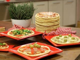 Recetas   Pizza crocante apta para celíacos   Utilisima.com