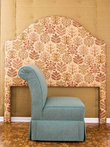 Easy Upholstery (Really!) - So they say... I have two heinous chairs that I want to re-upholster and I'm terrified...