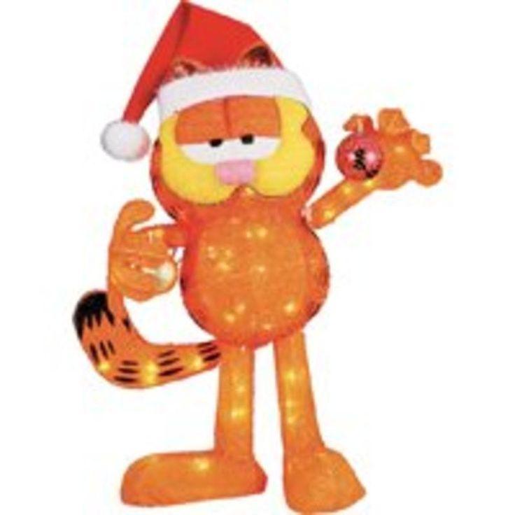 24In 70L Soft Tinsel Garfield Holiday Basix Christmas T32(24)-70L 718928711600 #HolidayBasix