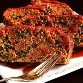Paleo Ground Beef Meatloaf -- this was a huge hit with the hubs.  Will definitely make again!