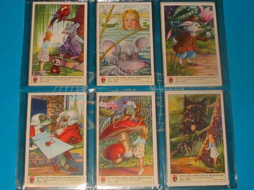Figurine Lavazza serie N° 53 Alice nel Paese delle Meraviglie