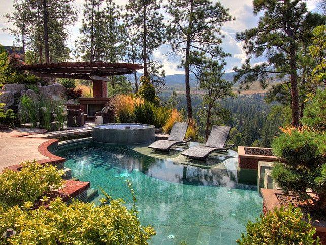 #Pool Design Ideas - small soaking pool - great idea ... on Dream Backyard With Pool id=66610