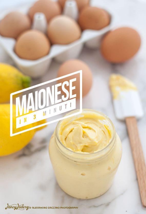 Maionese fatta in casa • Homemade Mayonnaise sauce