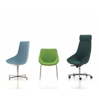 De stoel Jay is ontworpen door het fantastische designteam van Bertoli Design. De elegante lijnen vloeien samen tot een fraai en modern geheel. De stoelen bestaan uit een variant met een lage en hoge rug, met optionele hoofdsteun. De stoel is verkrijgbaar met diverse stof- en lederkleuren en ook diverse onderstellen.