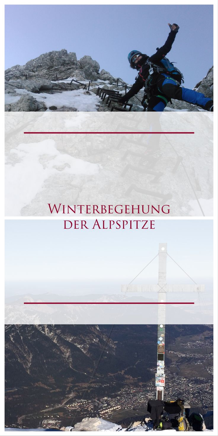 Im Winter auf einen Klettersteig? Auf der Alpspitz Ferrata in Garmisch-Patenkirchen ist das möglich. Kein ungefährliches Unternehmen, den Lawinenkenntnisse, Trittsichheit mit Steigeisen und Schwindelfreiheit ist ein unbedingtes Muss! Lest mehr im Blog