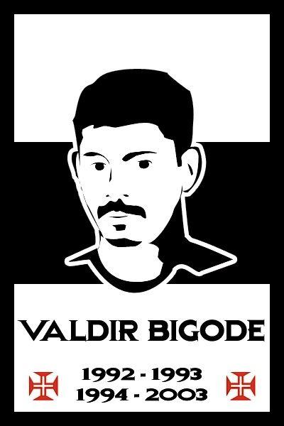 Bandeira do Valdir Bigode. Vasco.