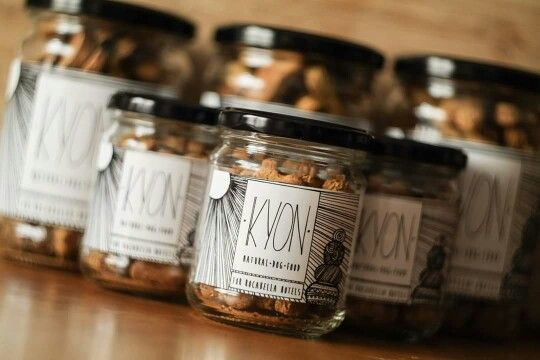 KYON treats ready for Rocabella Hotels with a custom made label