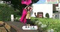 慰安婦問題について、いろんな報道: NHKお天気キャスターの酒井千佳さん、 まさかの五輪コスプレ ファン熱狂。