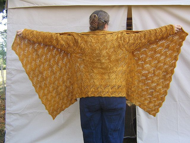 Adrienne Vittadini Knitting Pattern Books : Adrienne Vittadini Yoga Wrap back view by tradweaver, via Flickr Vogue Winter...