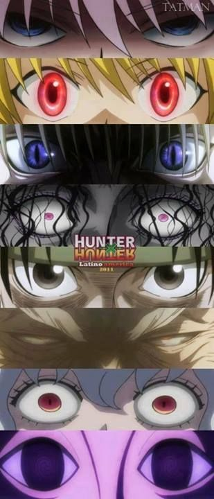 Hunter x Hunter; they need to add Gon's crazy angry eyes to this.