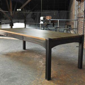 Vintage Industrial Dining Room Table