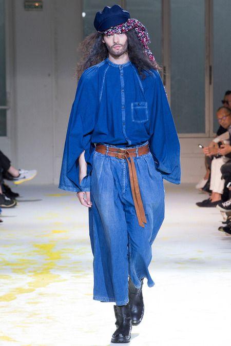 Yohji Yamamoto   Spring 2015 Menswear Collection   Style.com