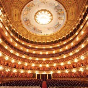 Teatro Colon Opera House in Buenos Aires.