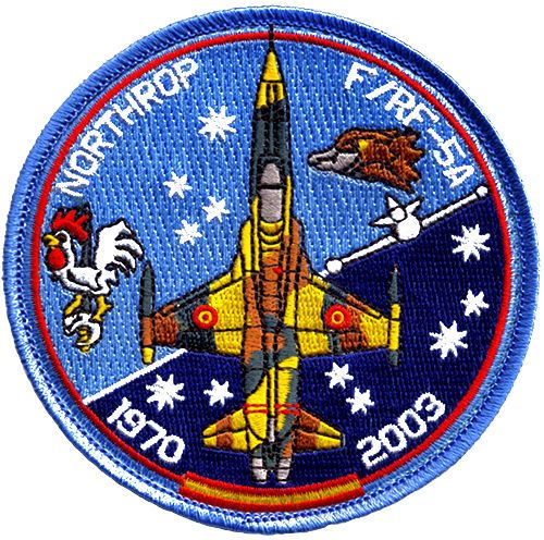 Parche-F-5-Ejercito-del-Aire-Spanish-Air-Force-patch-Military-Army-Espana