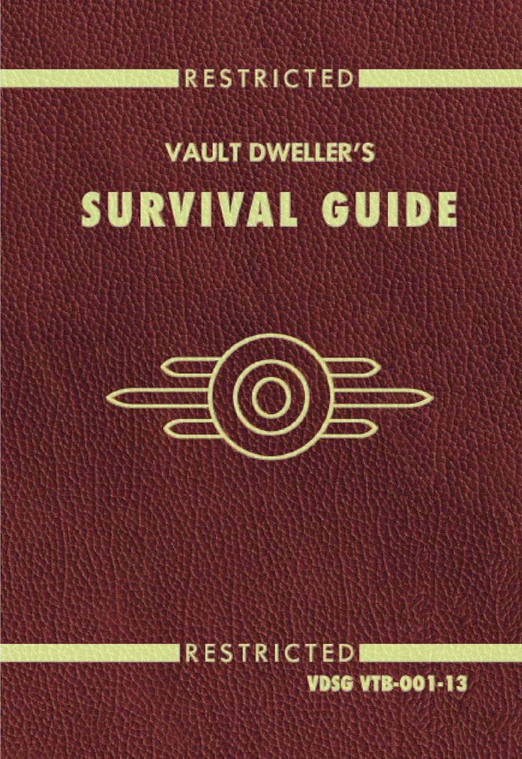 Fallout 4 Vault Dweller's Survival Guide: Prima Official Game Guide, by David Hodgson and Nick von Esmarch (released Nov 10, 2015). Prima Games understands what gamers—both casual and hardcore—want and need from strategy guides. Every guide features in-depth content, detailed screen captures, quick-reference tips, and professional strategy.