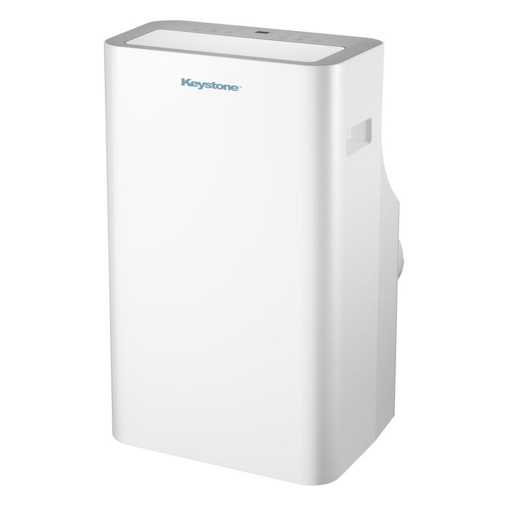 Keystone 12,000 BTU 115V Extra-Quiet Portable Air Conditioner with Remote Control (White)