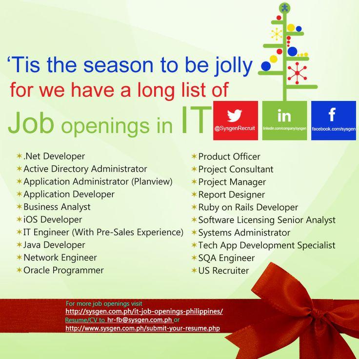 job openings as of december 6 2013 visit httpsysgen. Resume Example. Resume CV Cover Letter