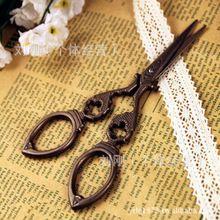 Presentes artesanato DIY do Vintage antigo Vintage aço inoxidável ponto tesoura de costura tesoura(China (Mainland))