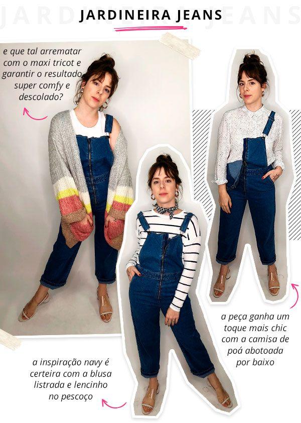 4776632ec5 Gabriela bonomi - cotton on - jardineira jeans - verão - steal the look