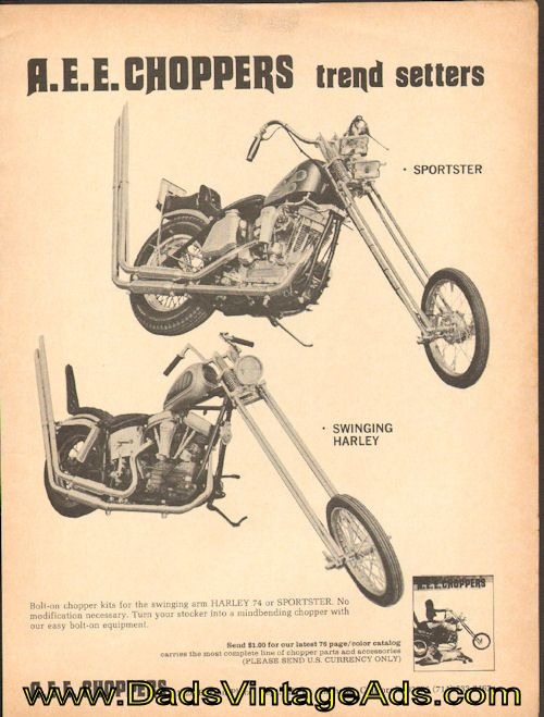 AEE Choppers: Sixth installment of the 1969 AEE Choppers