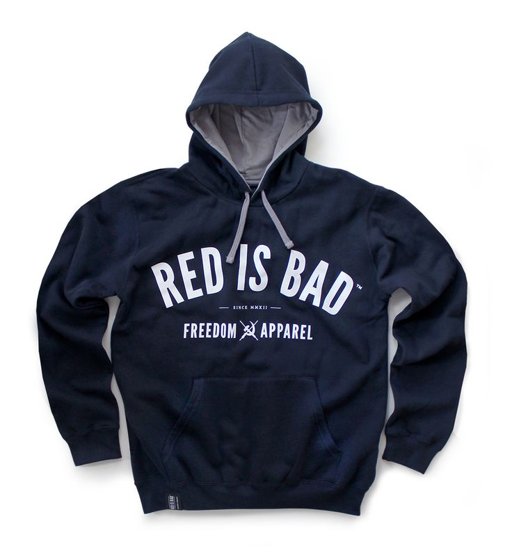 Bluza Red is Bad - Freedom Apparel