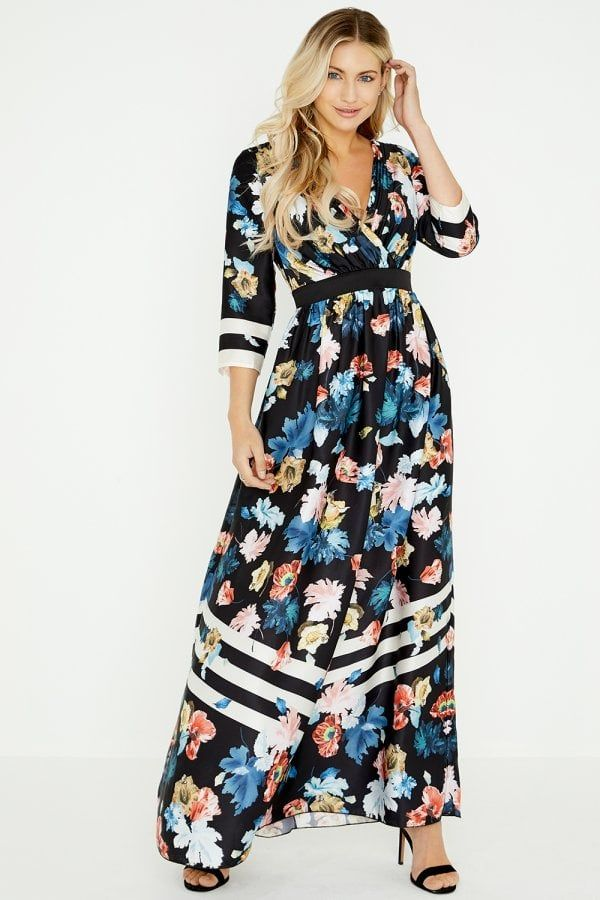 Pin By Jasmaine Wagner On Modest Fashion In 2020 Floaty Maxi Dress Maxi Dress Striped Maxi Dresses