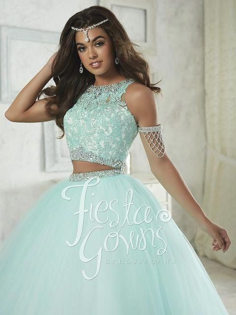 Elegant baby blue two piece quinceanera dresses 2016 ball gown beaded  vestidos de 15 anos debutante blush pink sweet 16 dresses  sweet16dresses 800a77ba0649