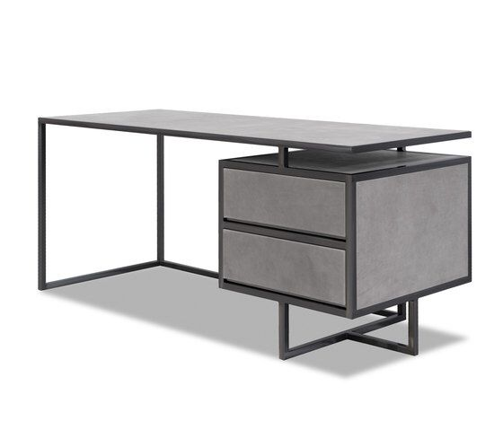 TRINITY Desk with drawers de Baxter via Architonic