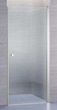 Lusso duschdörr rak med klart glas | Alterna badrum