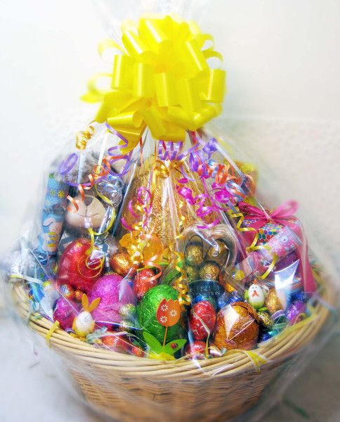 23 best easter hamper ideas images on pinterest gift ideas deluxe easter hamper easter hampershamper negle Images