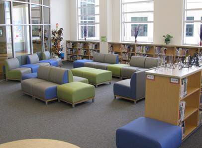 Library Furniture Wolfe Elementary Library Spaces