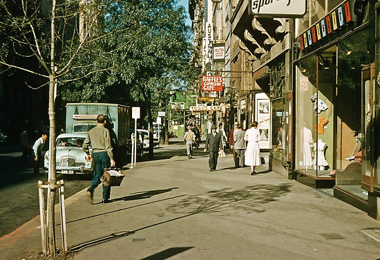 Collins St late 50s