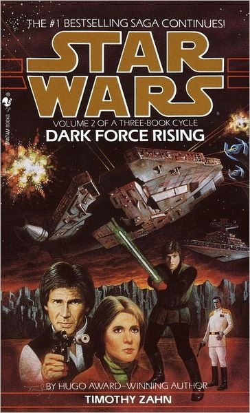 """""""Dark Force Rising"""" by Timothy Zahn. Book two of the Thrawn trilogy."""