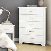 Found it at AllModern - South Shore Fusion 5 Drawer Chest $162