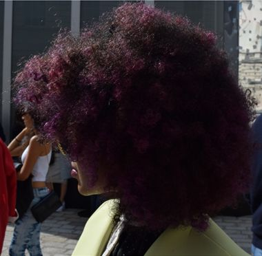 Big hair was flavour of the week this year at LFW! | Mint Velvet