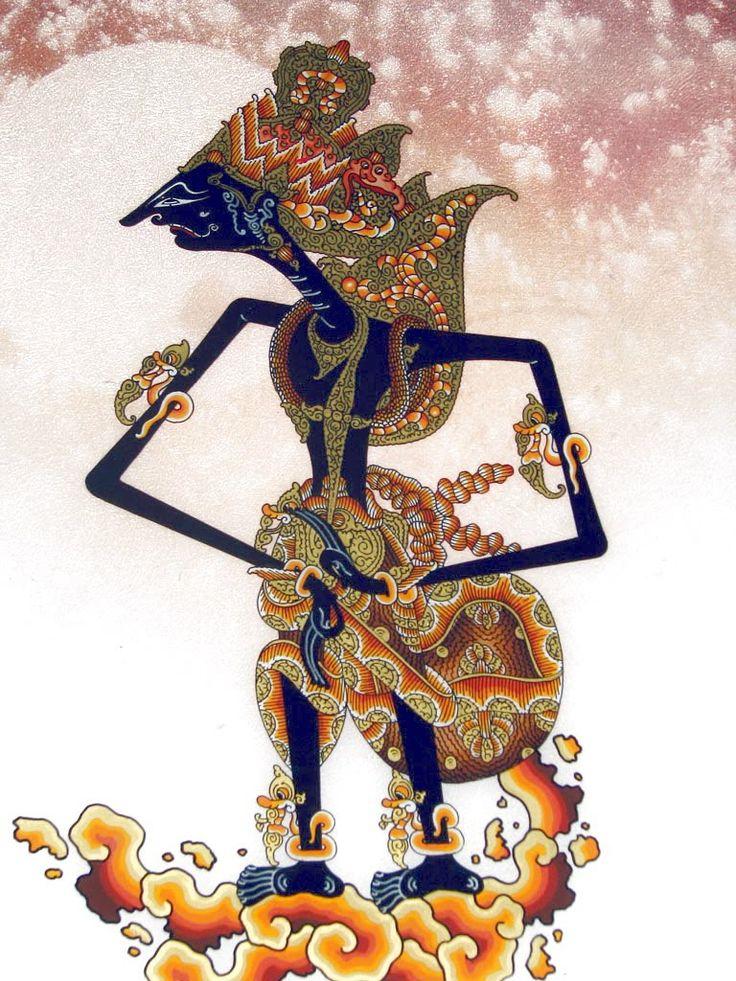 """lukisan wayang krisna (kresna) cirebon ~ """"Cirebon Site"""""""