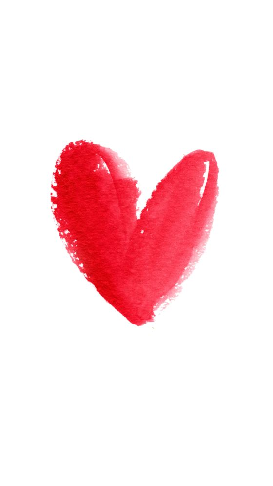 Red Heart ❤ Download more #Valentine iPhone Wallpapers at @prettywallpaper