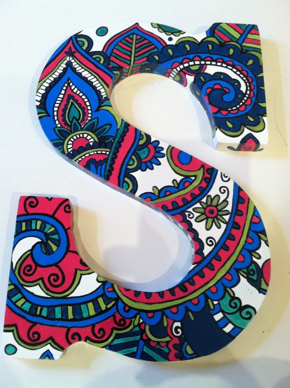 83 Best Images About Wooden Letter Designs On Pinterest