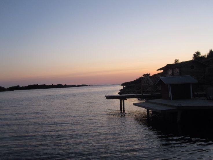 Evening at Havsvidden, Kökar