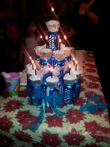 Cake Decoration Ideas For Boyfriend : 25 best images about 19th Birthday on Pinterest Beer ...