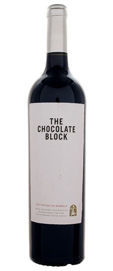 The Chocolate Block - 2007 South Africa (Franschhoek)