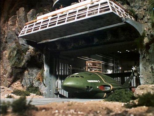 Open the hanger door Thunderbird 2 Thunderbirds are go