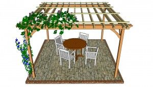 Pergola Plans for Patios - Learn how to build a Wooden Pergola for your Patio - http://www.woodendesignplans.com/pergolaplans/pergola-plans-for-patios-learn-how-to-build-a-wooden-pergola-for-your-patio/