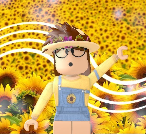Sunflower Roblox Gfx Roblox Pictures Roblox Animation Roblox