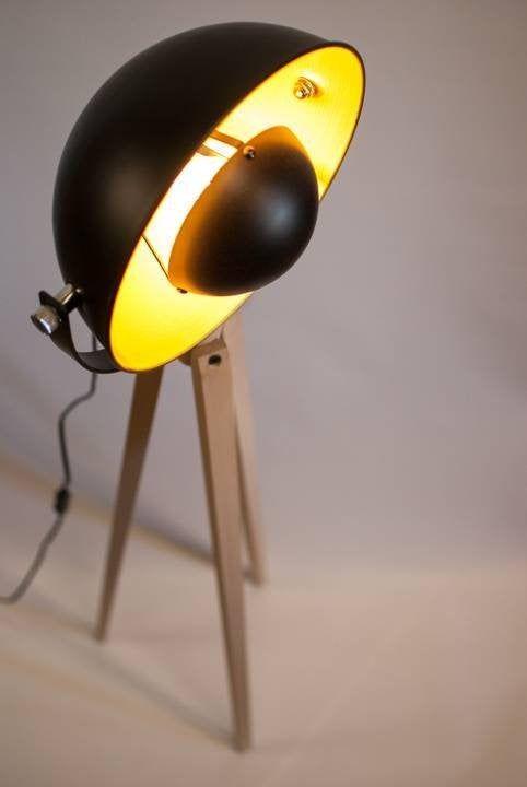 Tripod Floor Lamp Tripod Bauhaus Industrie Design Spotlight