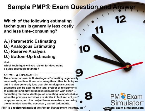 PMP Exam Question Bank